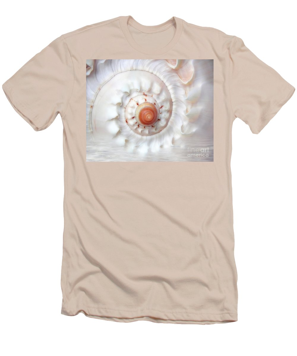 White Men's T-Shirt (Athletic Fit) featuring the photograph Purify by Jacky Gerritsen