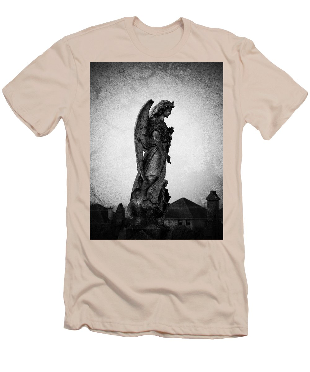 Roscommon Men's T-Shirt (Athletic Fit) featuring the photograph Roscommonn Angel No 4 by Teresa Mucha