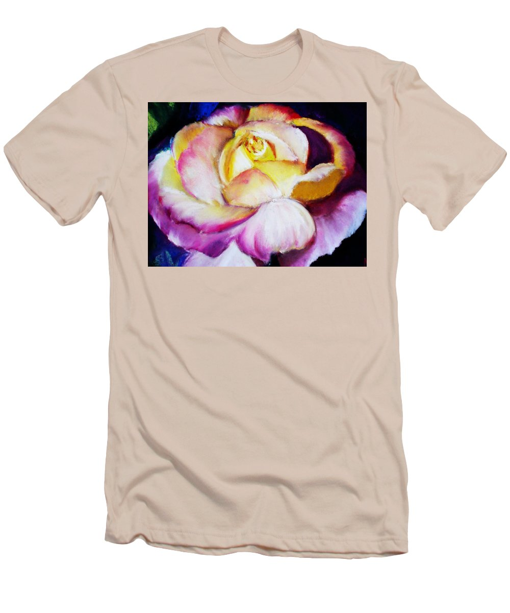 Rose Men's T-Shirt (Athletic Fit) featuring the print Rose by Melinda Etzold