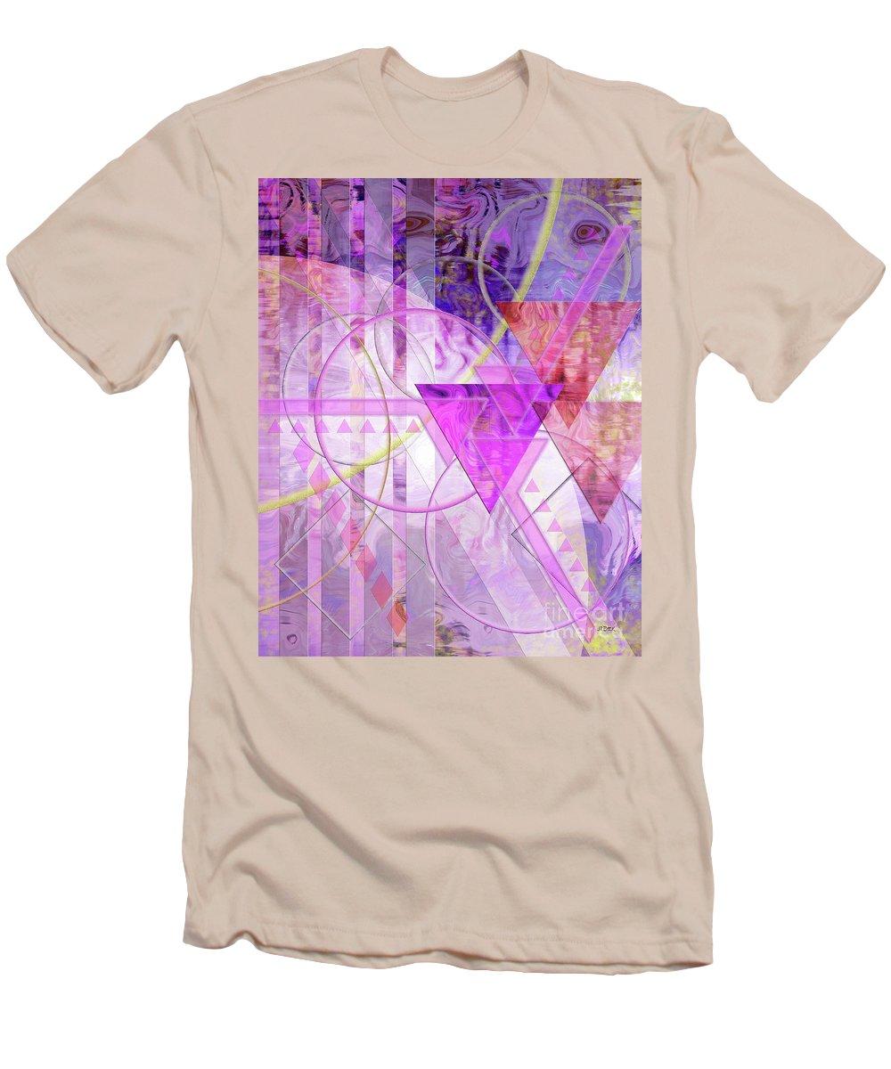 Shibumi Men's T-Shirt (Athletic Fit) featuring the digital art Shibumi Spirit by John Beck