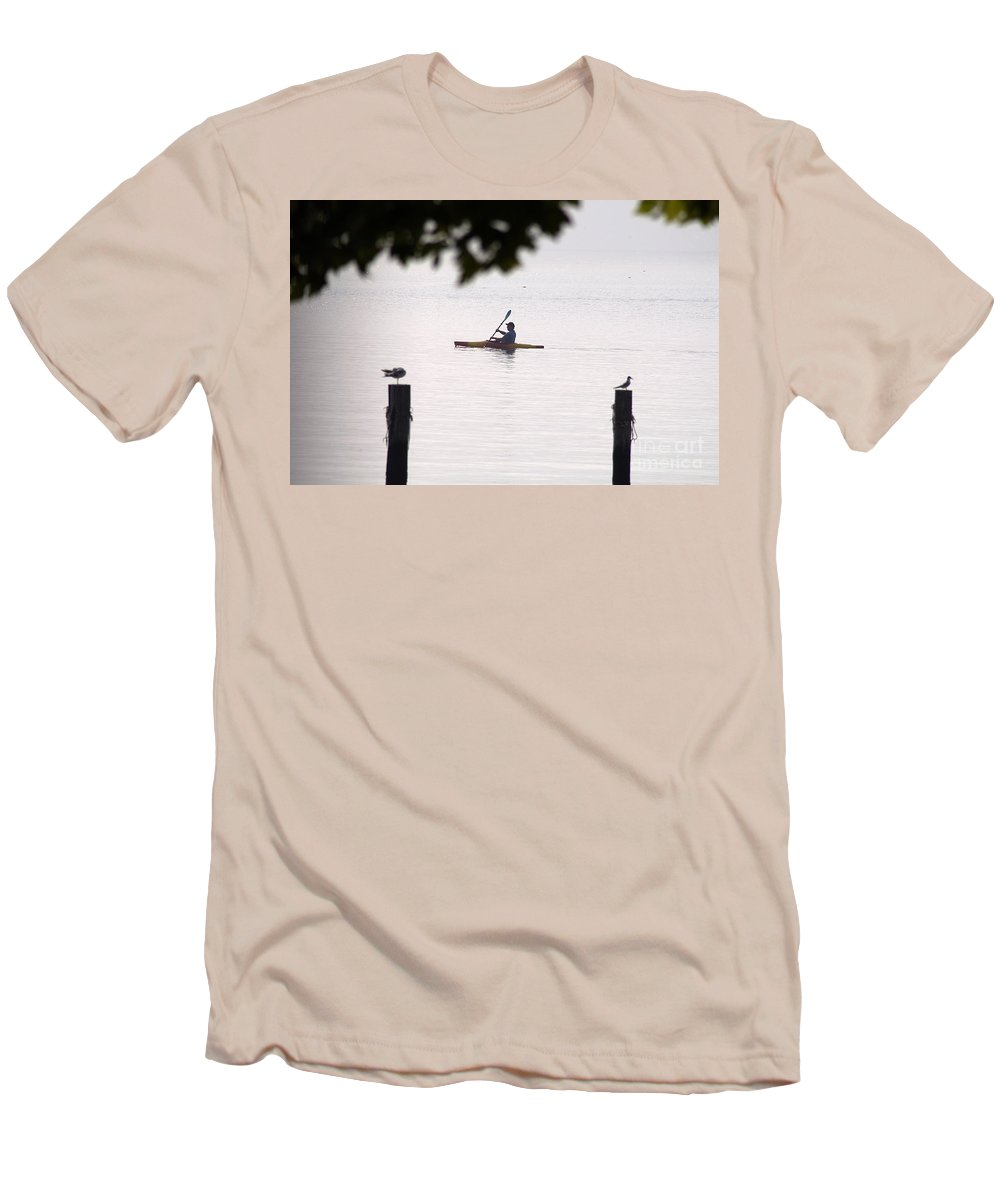 Clay Men's T-Shirt (Athletic Fit) featuring the photograph Solitude by Clayton Bruster