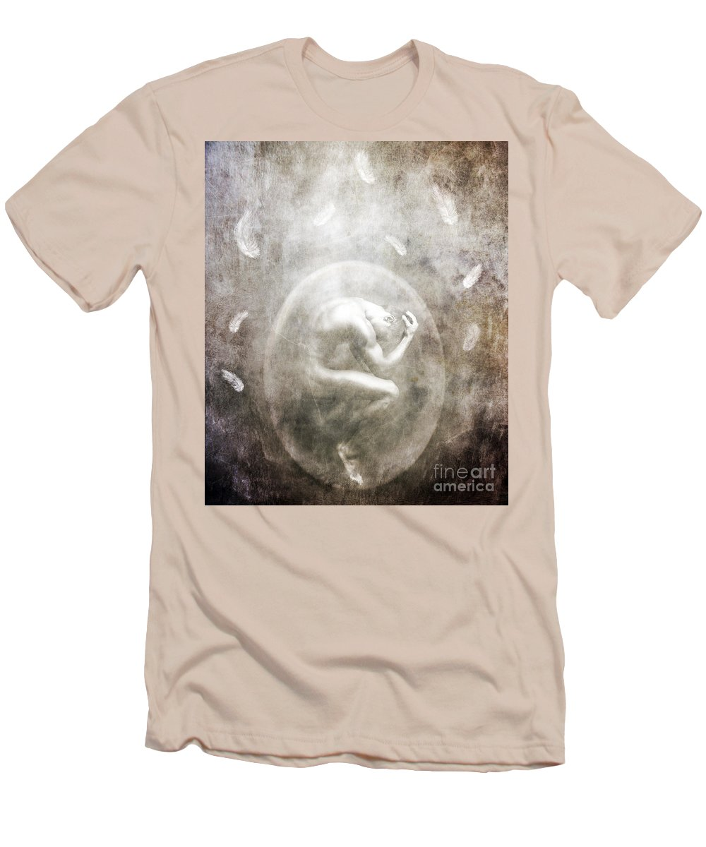 Surreal Men's T-Shirt (Athletic Fit) featuring the photograph Sometimes by Jacky Gerritsen