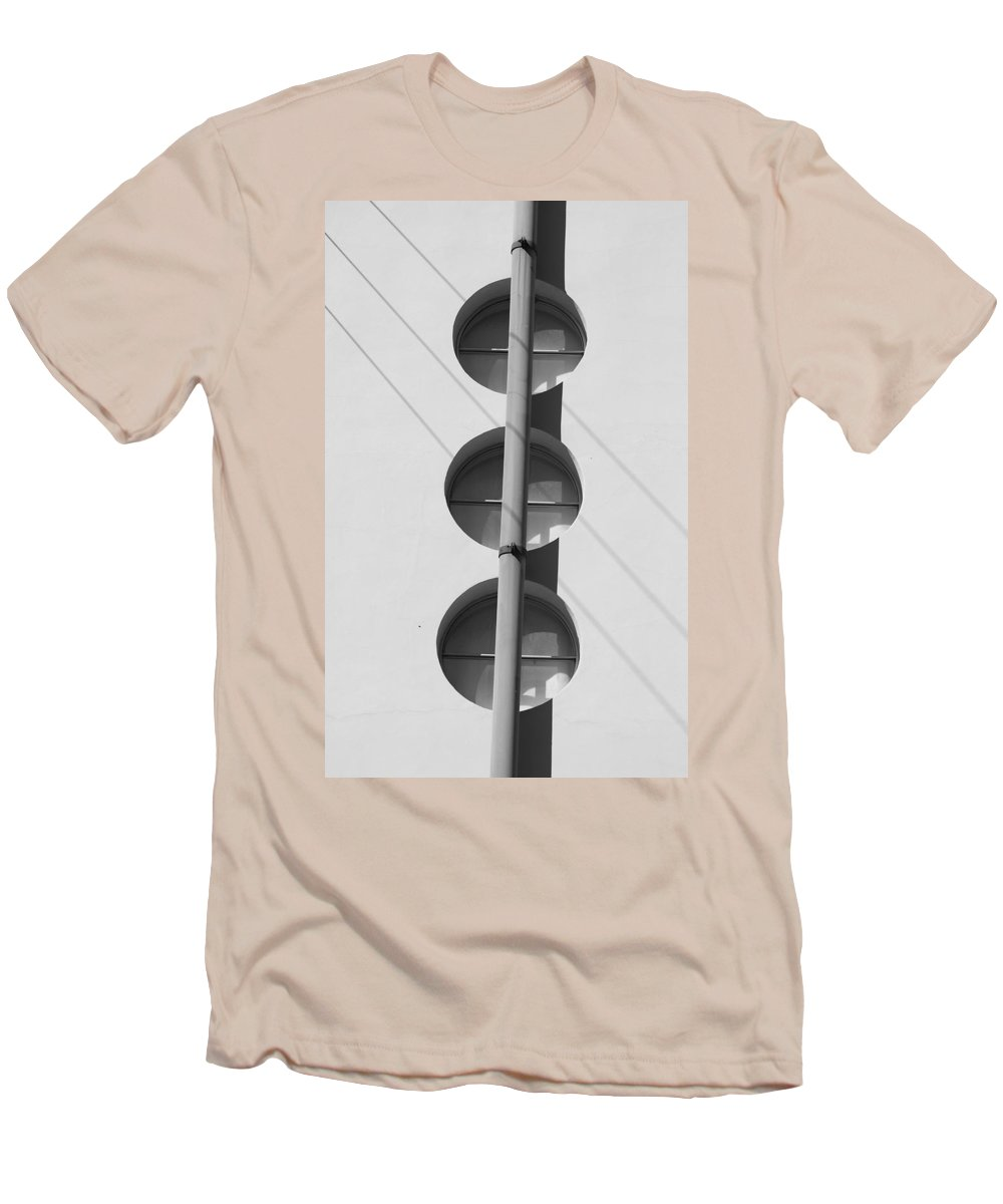 Architecture Men's T-Shirt (Athletic Fit) featuring the photograph Stop Yield And Go by Rob Hans