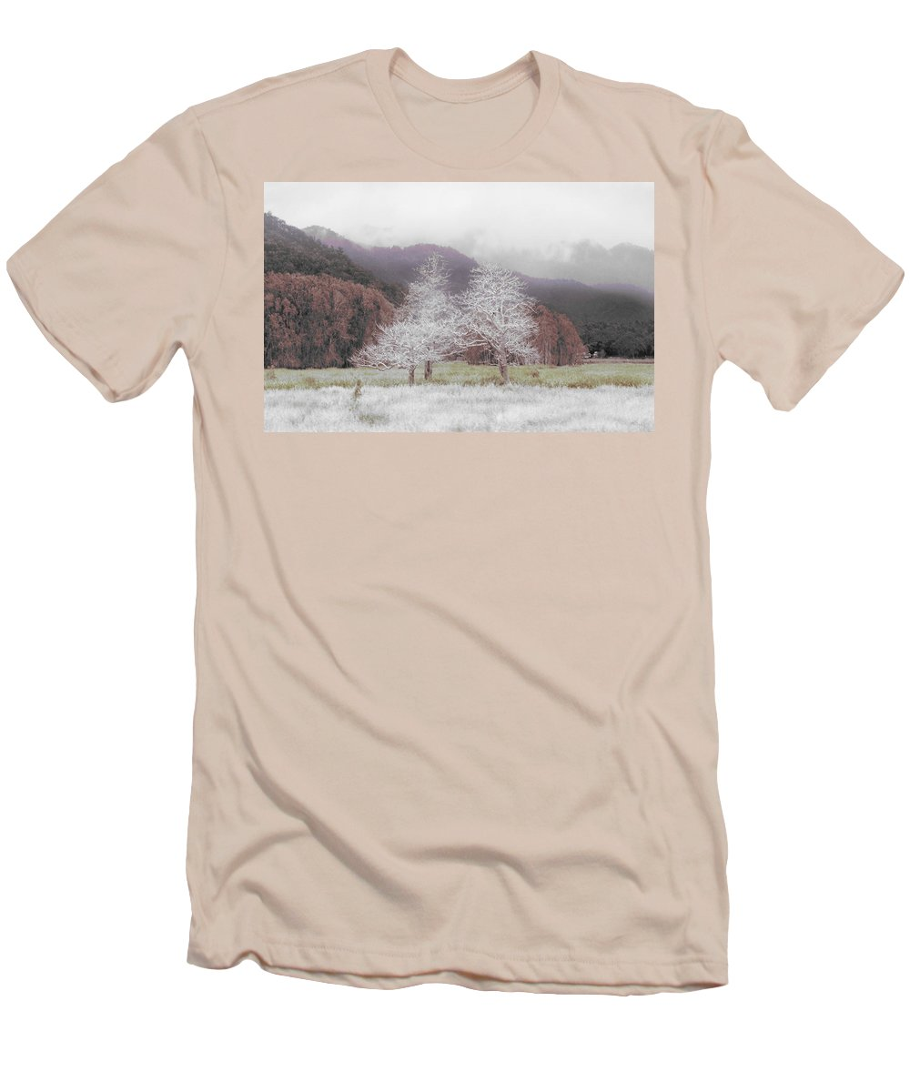 Landscape Men's T-Shirt (Athletic Fit) featuring the photograph Together We Stand by Holly Kempe
