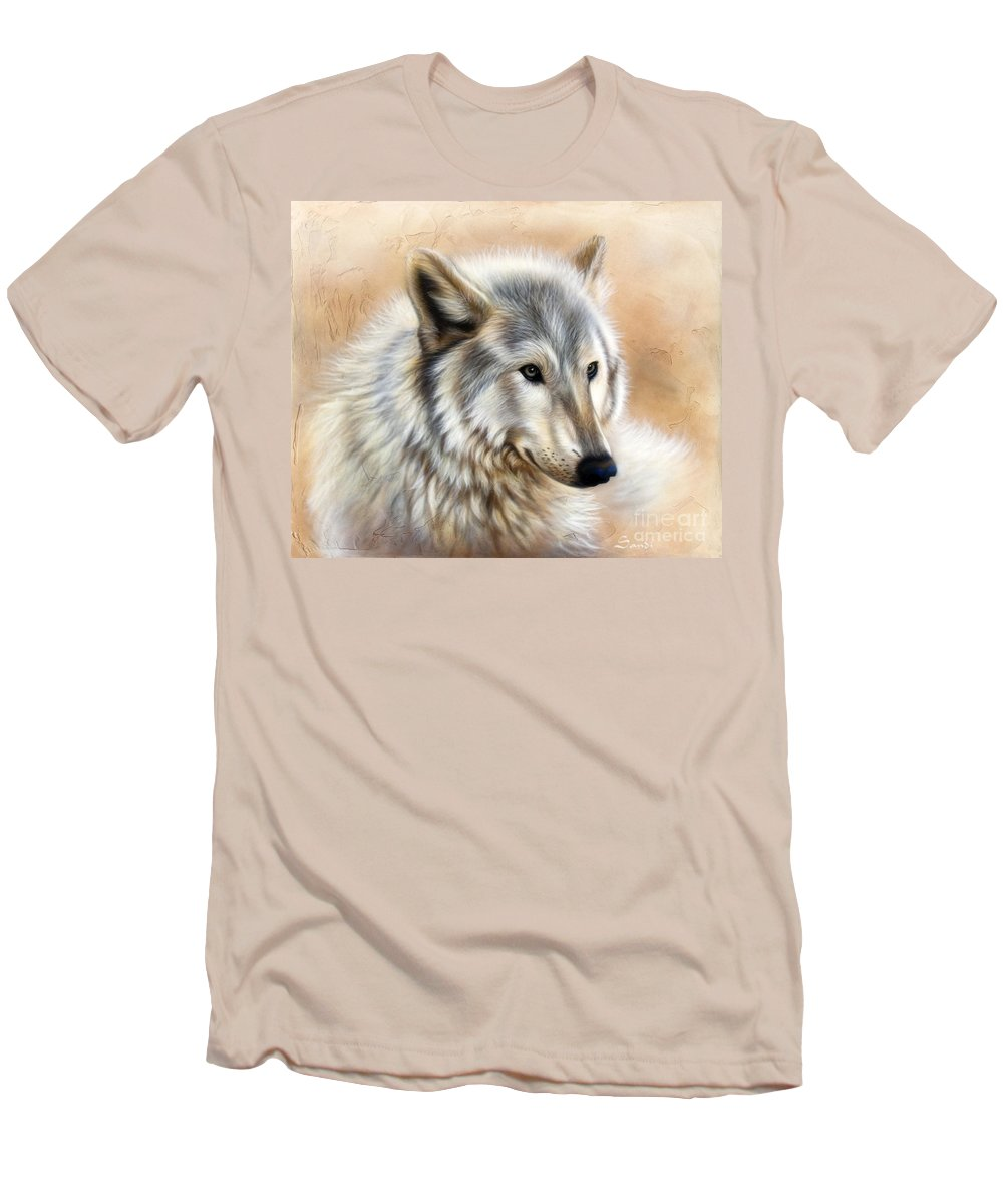 Acrylic Men's T-Shirt (Athletic Fit) featuring the painting Trace by Sandi Baker