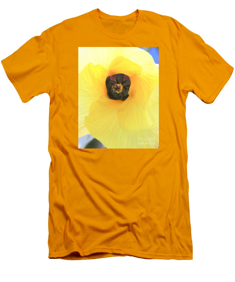 Hau Blossom Men's T-Shirt (Athletic Fit) featuring the photograph Hau Blossom by Mary Deal