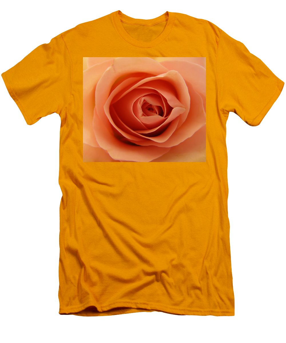 Rose Men's T-Shirt (Athletic Fit) featuring the photograph Rose by Daniel Csoka