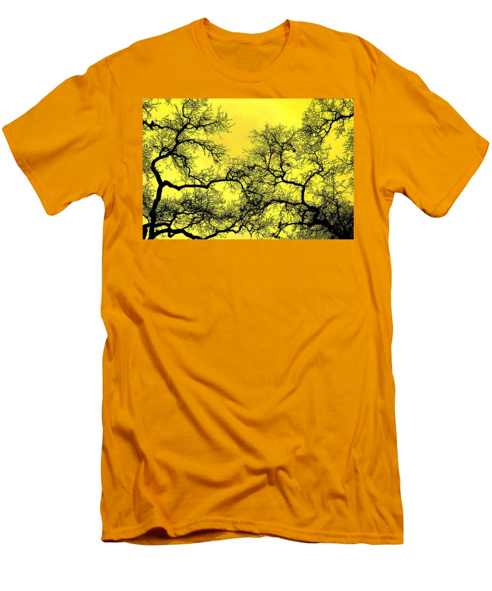 Digital Art Men's T-Shirt (Athletic Fit) featuring the photograph Tree Fantasy 18 by Lee Santa