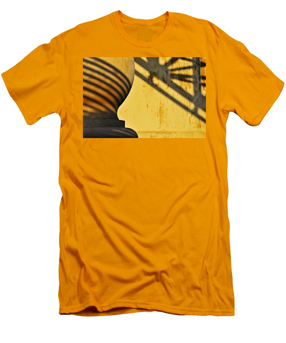Architecture Men's T-Shirt (Athletic Fit) featuring the photograph Comb Over by Skip Hunt