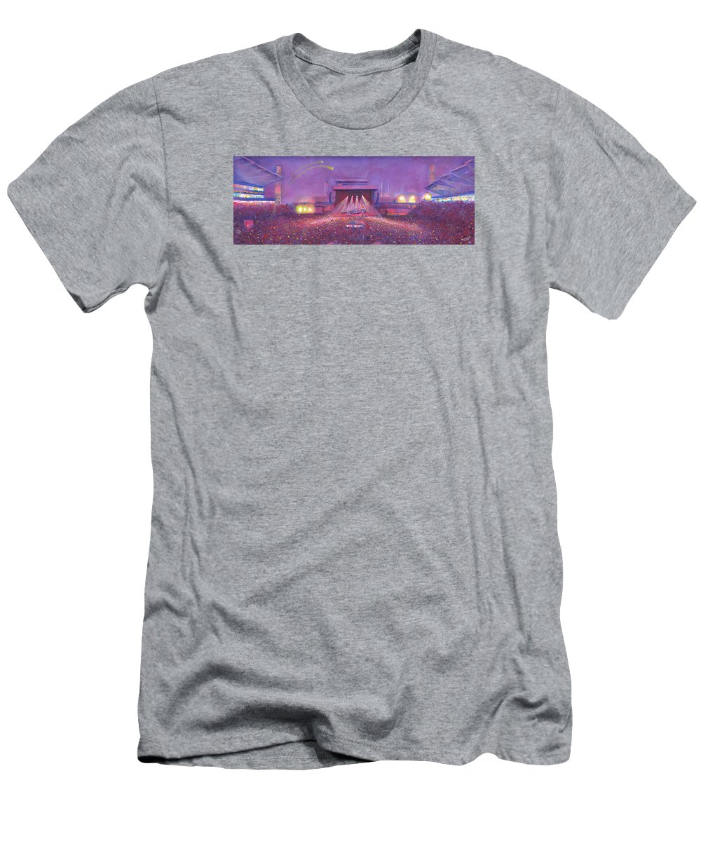 f7718cc4e055 Phish Men s T-Shirt (Athletic Fit) featuring the painting Phish At Dicks by