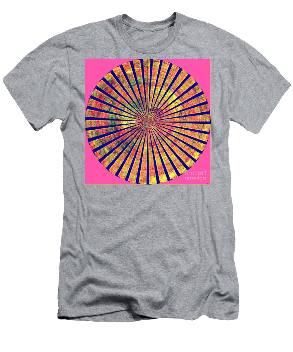 Abstract Art Of Good Color Men's T-Shirt (Athletic Fit) featuring the digital art 0966 Abstract Thought by Chowdary V Arikatla