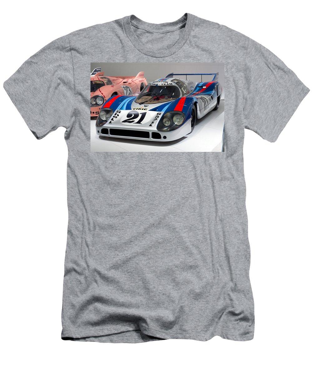 3d Men's T-Shirt (Athletic Fit) featuring the photograph 1971 Porsche 917 Lh Coupe by Paul Fearn
