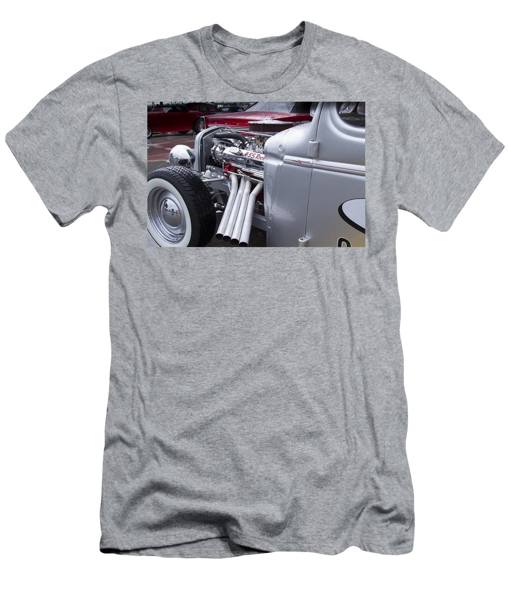 American Men's T-Shirt (Athletic Fit) featuring the photograph 455 Rocket by Jack R Perry