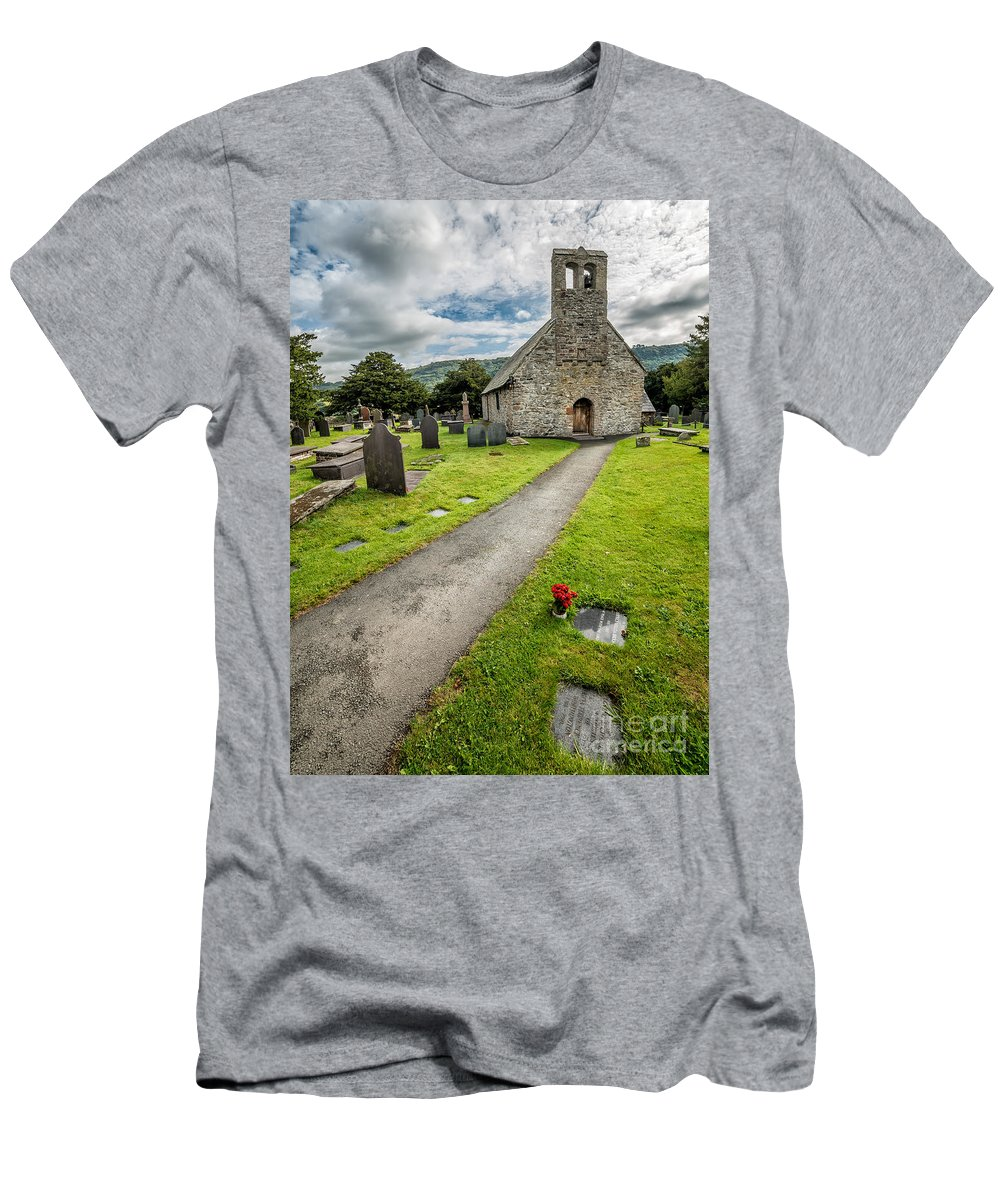 British Men's T-Shirt (Athletic Fit) featuring the photograph Church Of St Mary by Adrian Evans