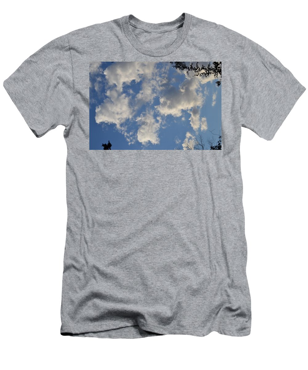 Clouds Men's T-Shirt (Athletic Fit) featuring the photograph Clouds 10 by Tara Potts