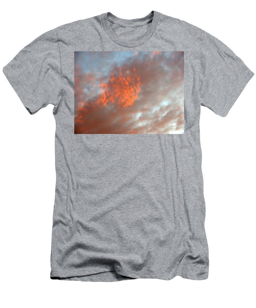 Color T-Shirt featuring the photograph Fireball in the Sky by Jean Macaluso