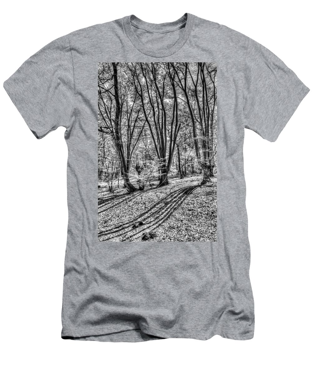 Forest Men's T-Shirt (Athletic Fit) featuring the photograph Forest View by David Pyatt