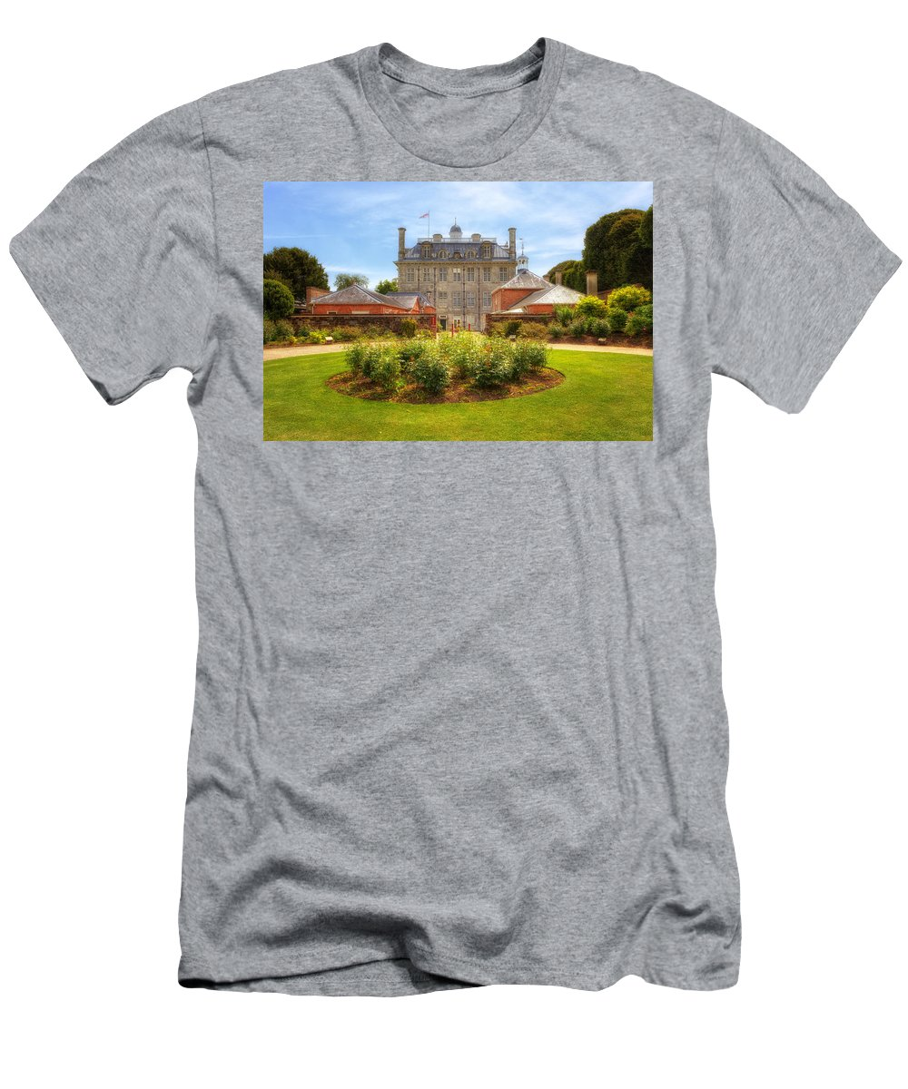 Kingston Lacy Men's T-Shirt (Athletic Fit) featuring the photograph Kingston Lacy by Joana Kruse