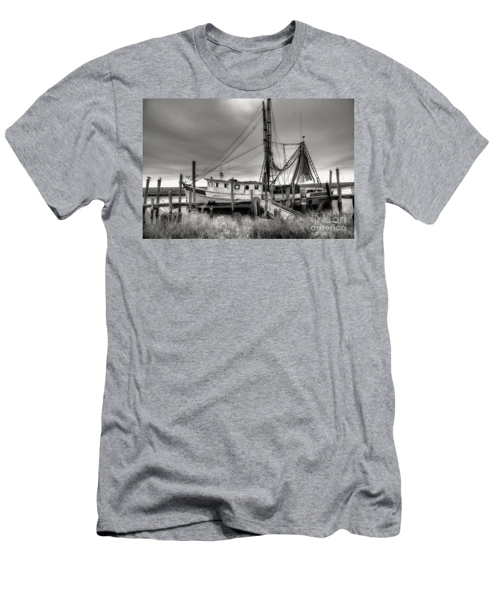 Shrimp Boat T-Shirt featuring the photograph Lowcountry Shrimp Boat by Scott Hansen