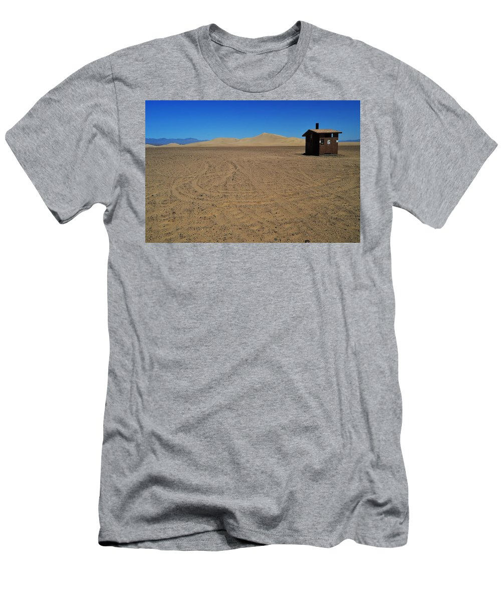 Sand Men's T-Shirt (Athletic Fit) featuring the photograph Lucky Number 6 by See My Photos