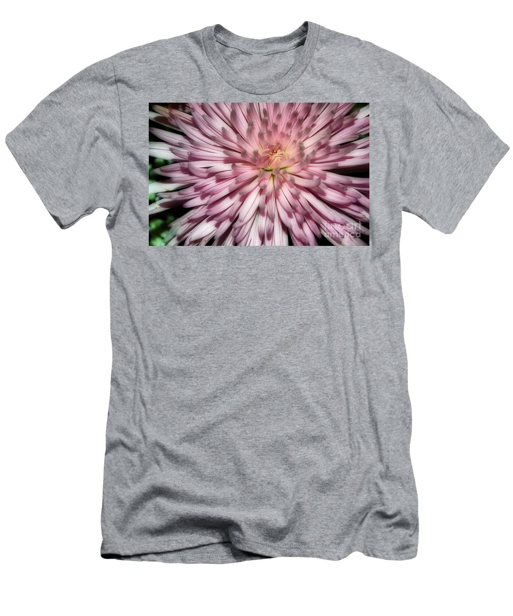 Pictures Of Flowers Men's T-Shirt (Athletic Fit) featuring the photograph Pink by Skip Willits