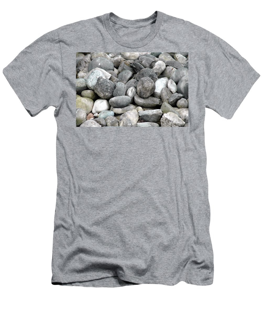 Landscape Men's T-Shirt (Athletic Fit) featuring the photograph Stonescape by Scott Angus