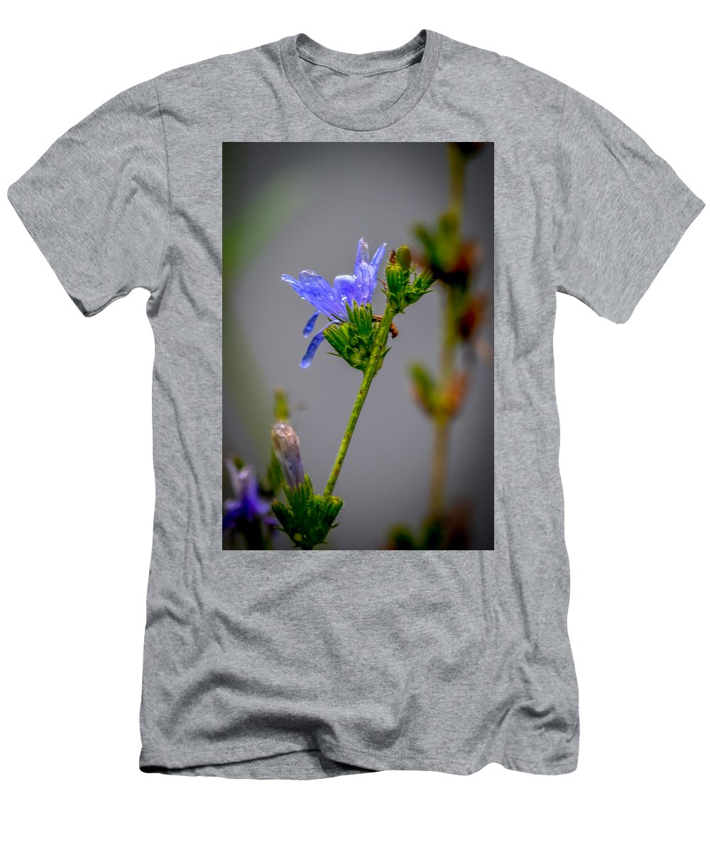 Wildflower Men's T-Shirt (Athletic Fit) featuring the photograph Wildflower by Michael Brooks