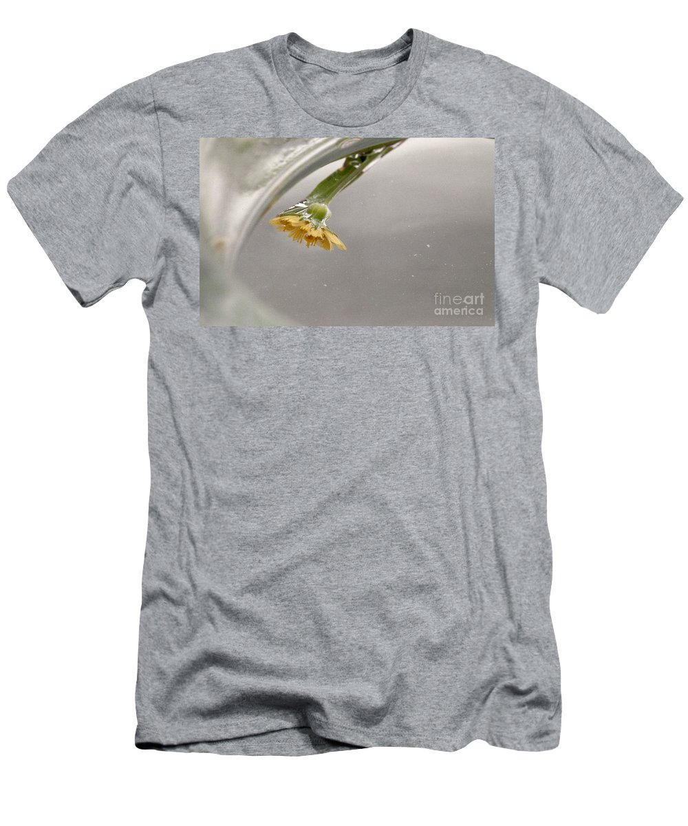 Yellow Men's T-Shirt (Athletic Fit) featuring the photograph Yellow by Amanda Barcon