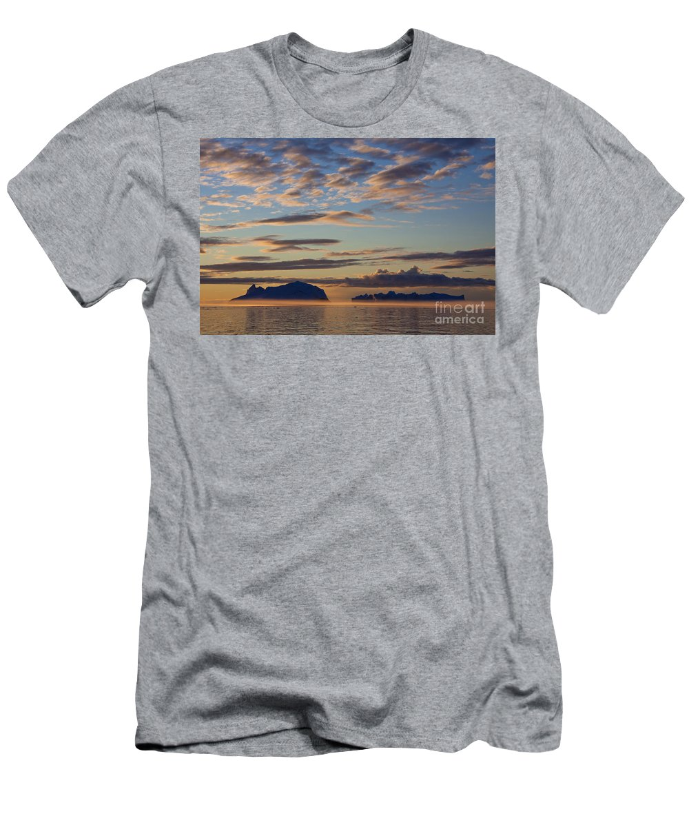 Iceberg Men's T-Shirt (Athletic Fit) featuring the photograph 110307p088 by Arterra Picture Library