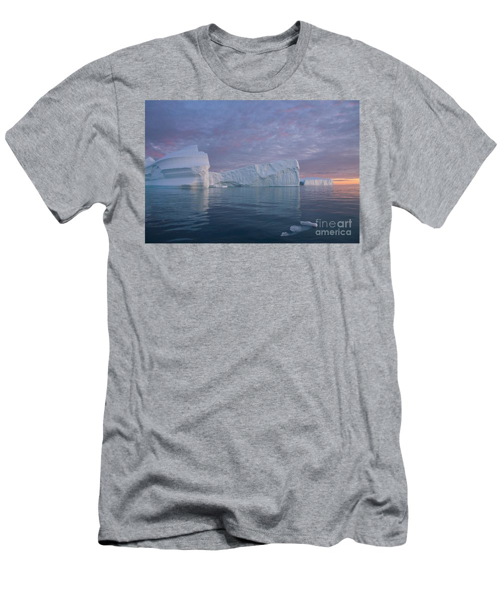 Iceberg Men's T-Shirt (Athletic Fit) featuring the photograph 110613p177 by Arterra Picture Library