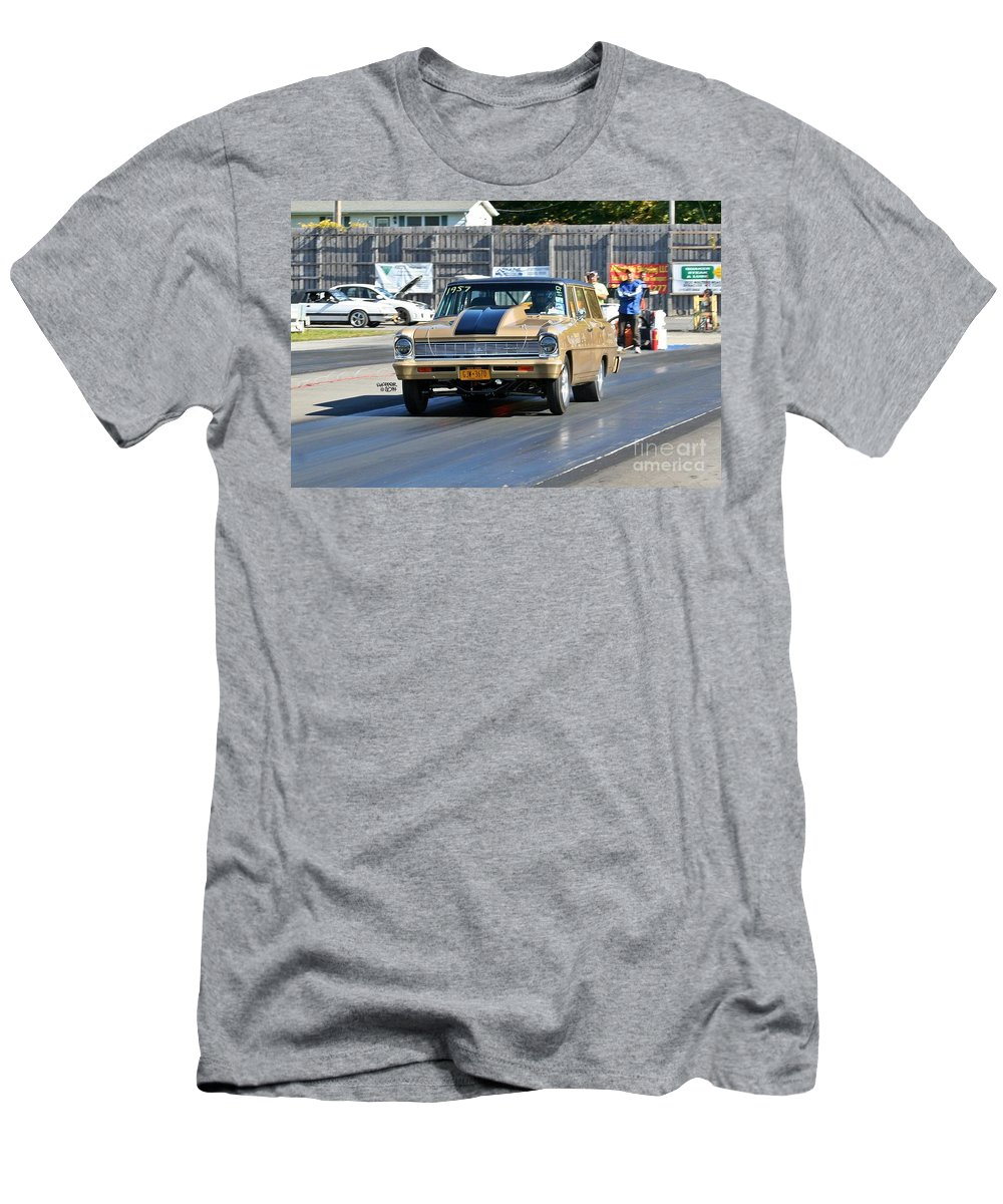 Esta Safety Park Men's T-Shirt (Athletic Fit) featuring the photograph Esta Safety Park 10-12-14 by Vicki Hopper