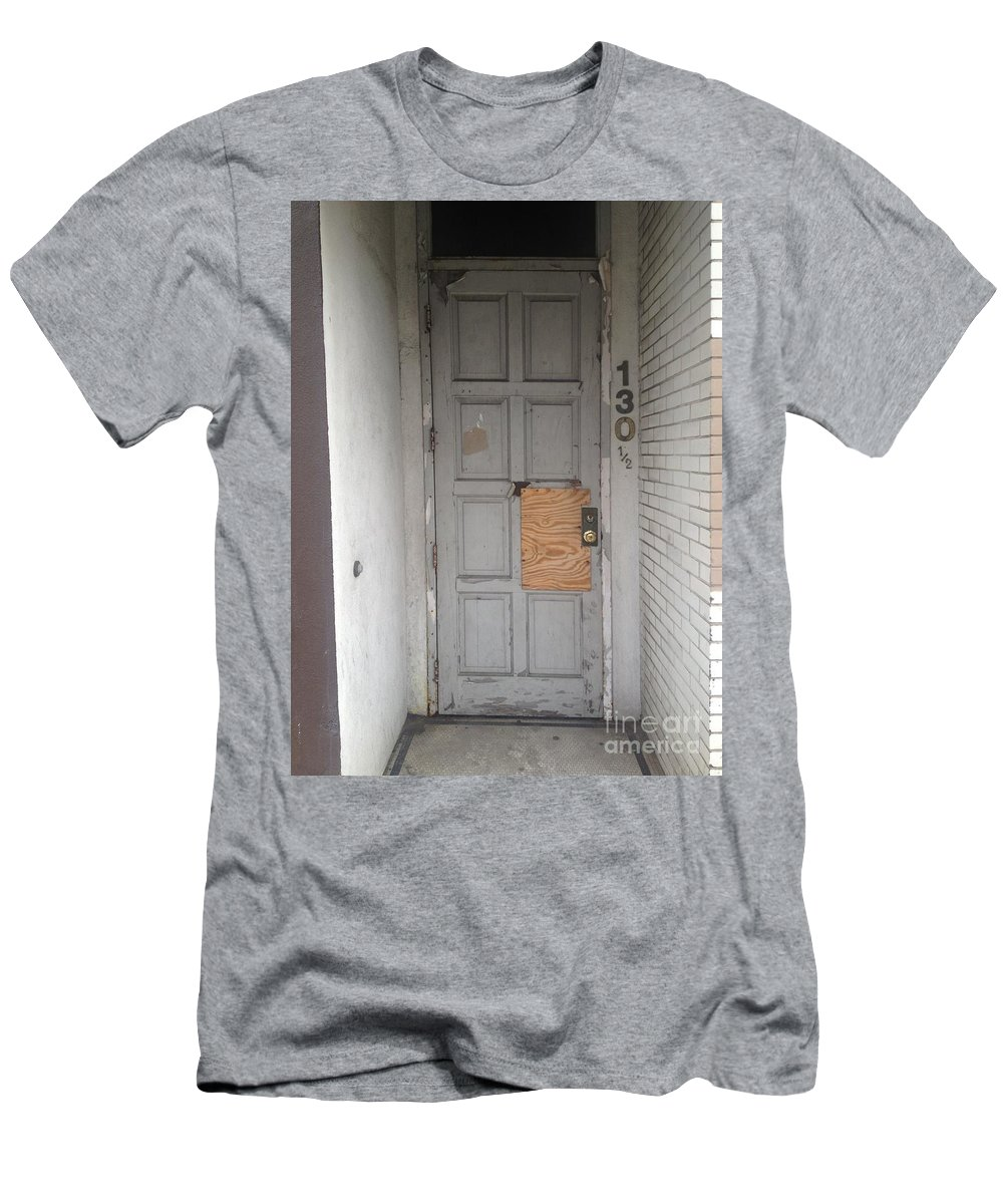City Center Ii Men's T-Shirt (Athletic Fit) featuring the photograph 130 Art by Joseph Yarbrough