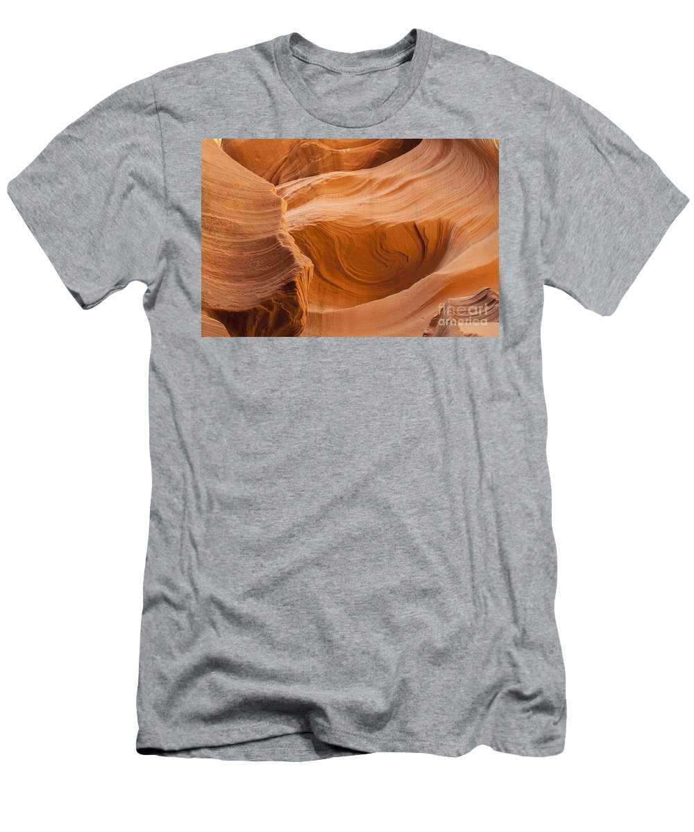Lower Antelope Canyon Arizona Usa Daniel Knighton Pixel Perfect Men's T-Shirt (Athletic Fit) featuring the photograph Antelope Canyon by Daniel Knighton