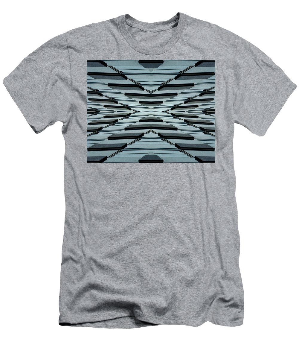 Original Men's T-Shirt (Athletic Fit) featuring the photograph Abstract Buildings 3 by J D Owen