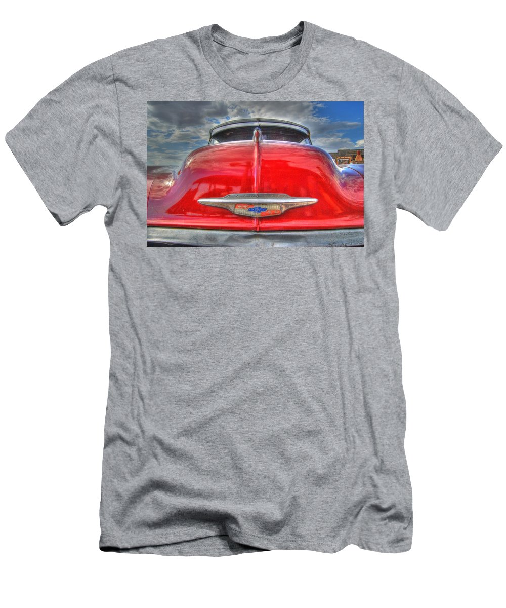 Chevy Men's T-Shirt (Athletic Fit) featuring the photograph Classic Chevy by Tam Ryan