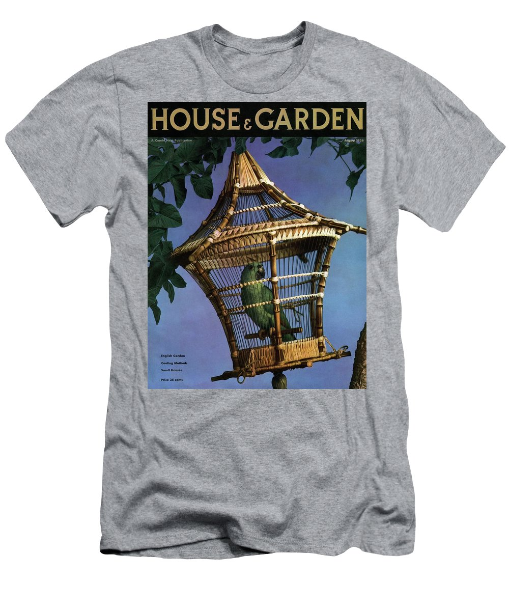House And Garden T-Shirt featuring the photograph House And Garden Cover by Anton Bruehl