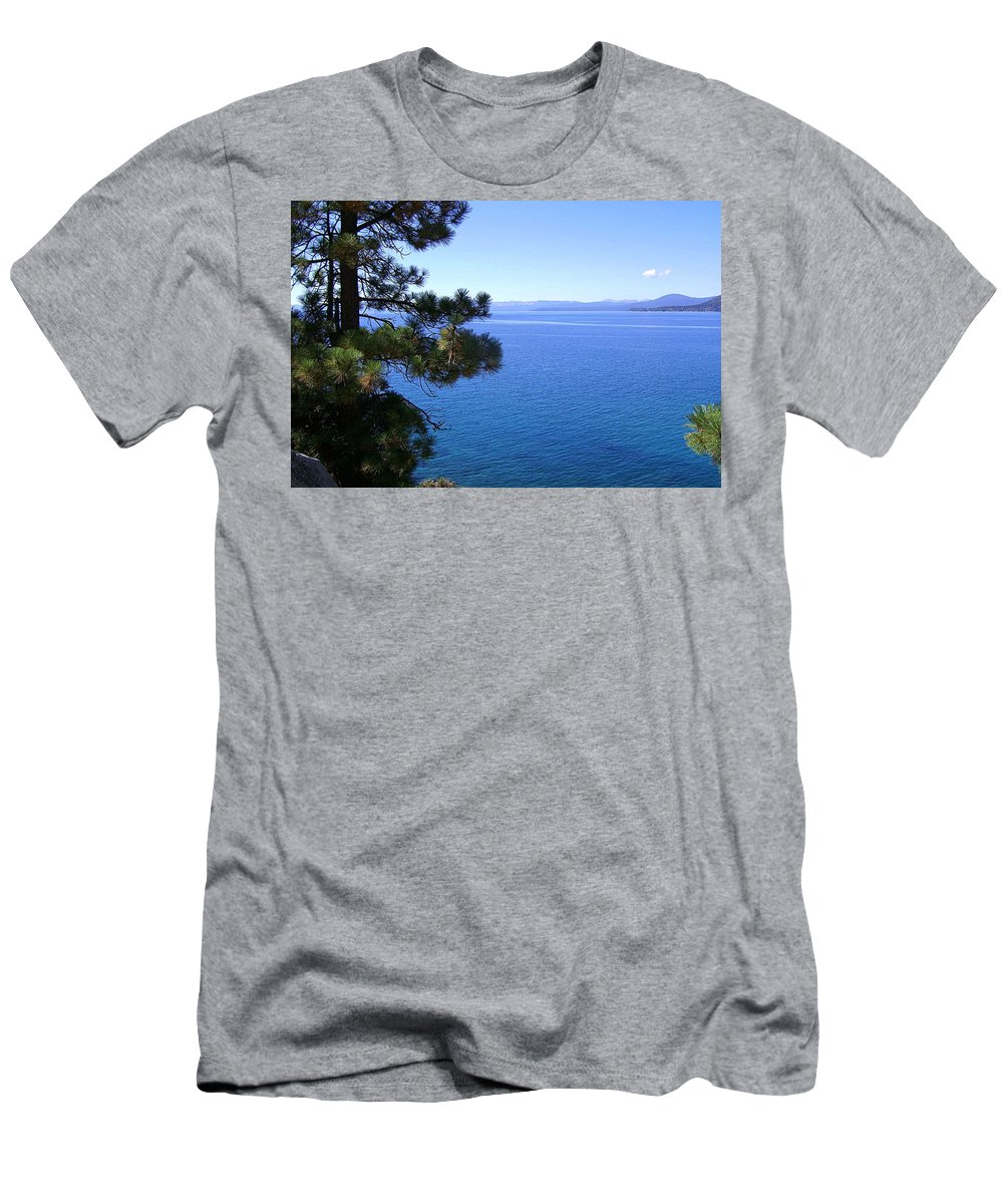 California Men's T-Shirt (Athletic Fit) featuring the photograph Lake Tahoe 2 by J D Owen