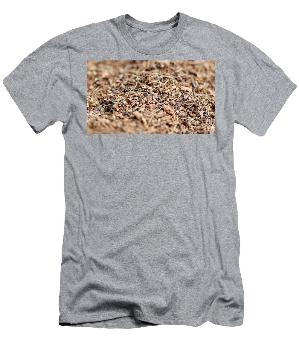 Mulch Men's T-Shirt (Athletic Fit) featuring the photograph Mulch by Henrik Lehnerer