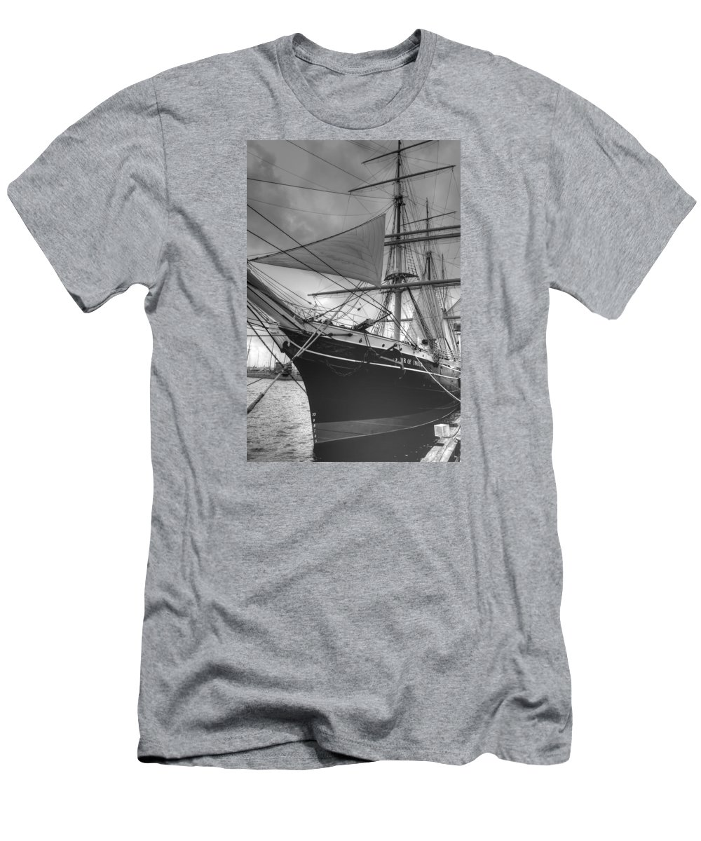 Star Of India Men's T-Shirt (Athletic Fit) featuring the photograph Star Of India by Bill Hamilton