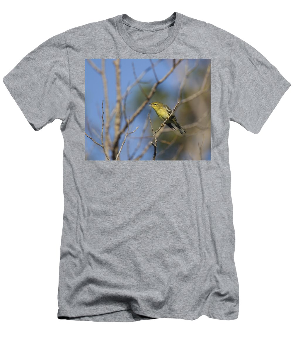 Doug Lloyd Men's T-Shirt (Athletic Fit) featuring the photograph Talking About It by Doug Lloyd