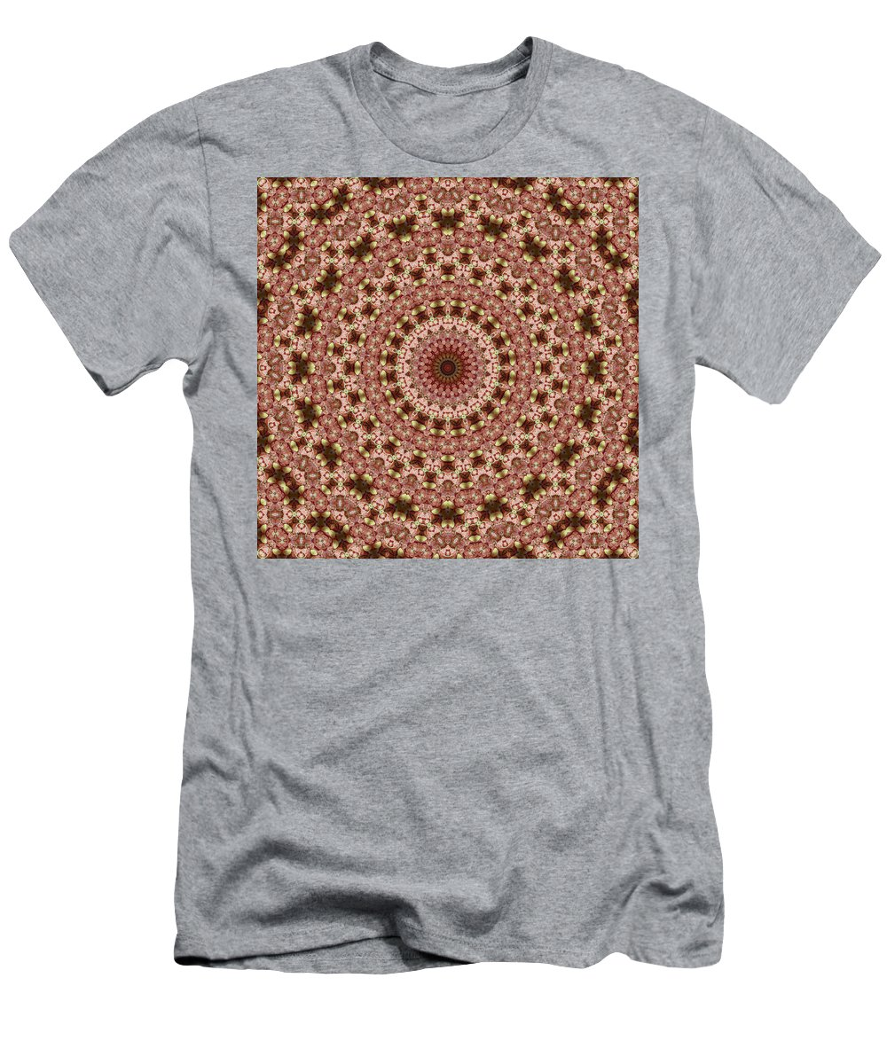 Glazed Fruit Mandala Men's T-Shirt (Athletic Fit) featuring the photograph Mandala by Ben Bassey
