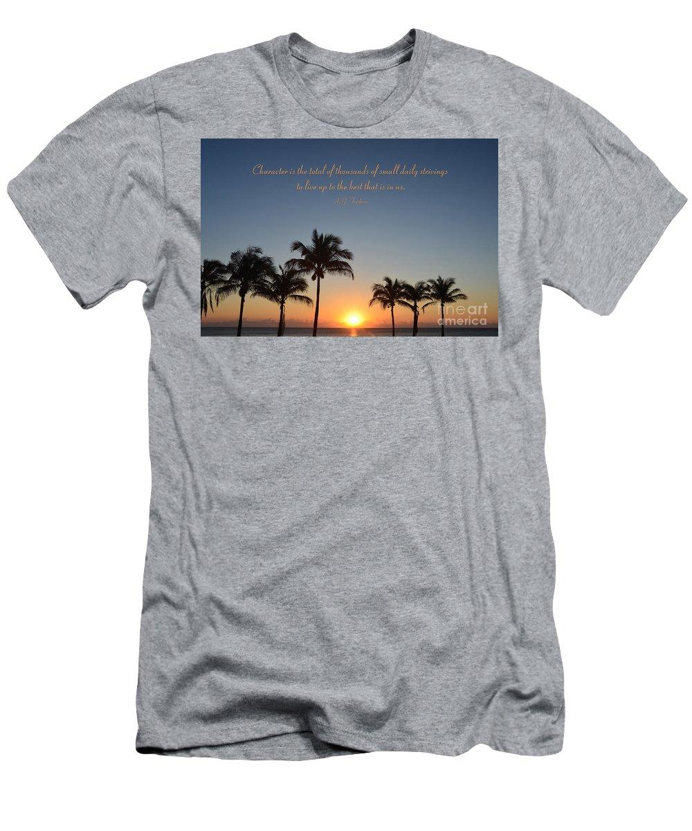 A.g. Trudeau Men's T-Shirt (Athletic Fit) featuring the photograph 52- A.g. Trudeau by Joseph Keane
