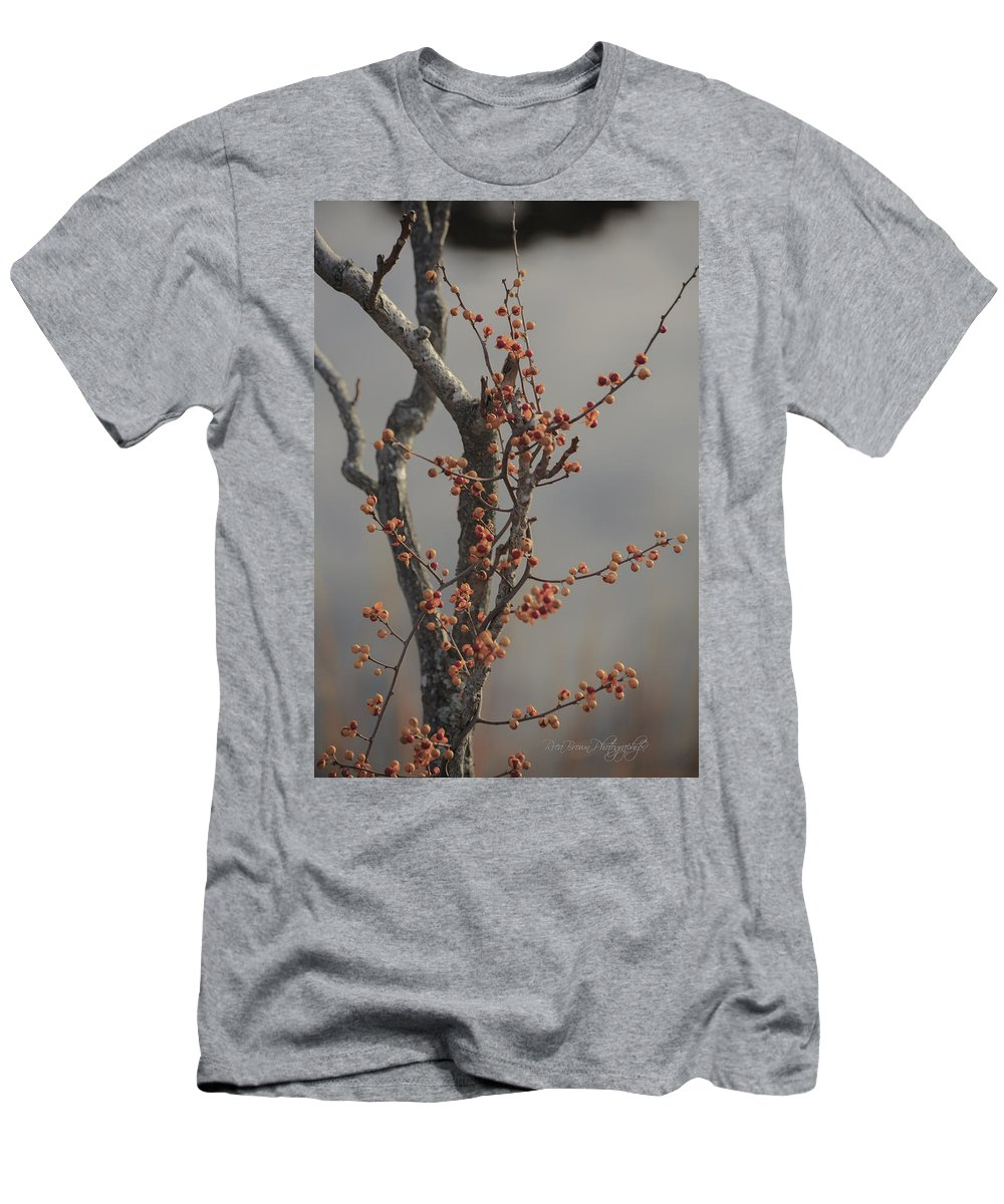 Nature Men's T-Shirt (Athletic Fit) featuring the photograph 569 by Rrea Brown