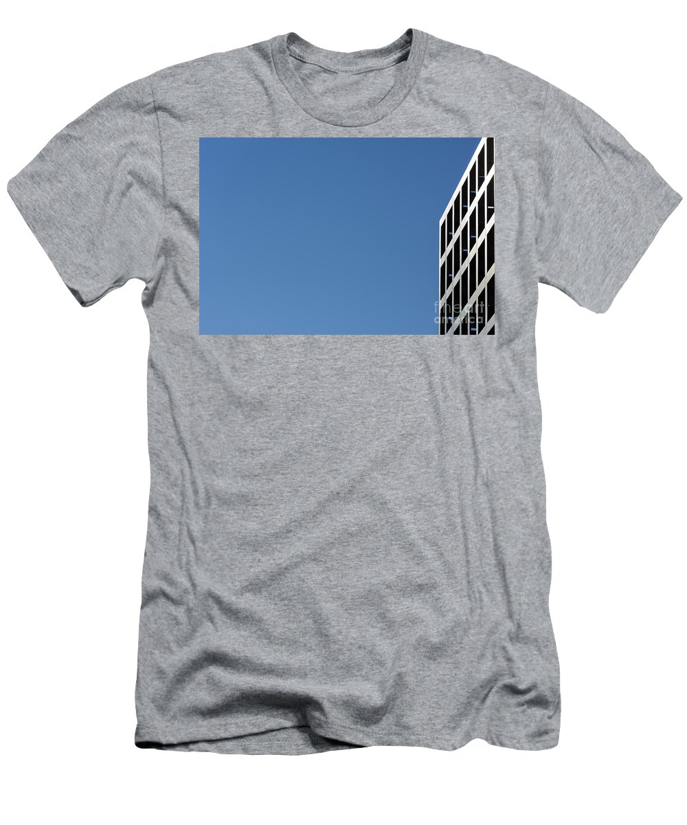 Building Men's T-Shirt (Athletic Fit) featuring the photograph Building by Mats Silvan