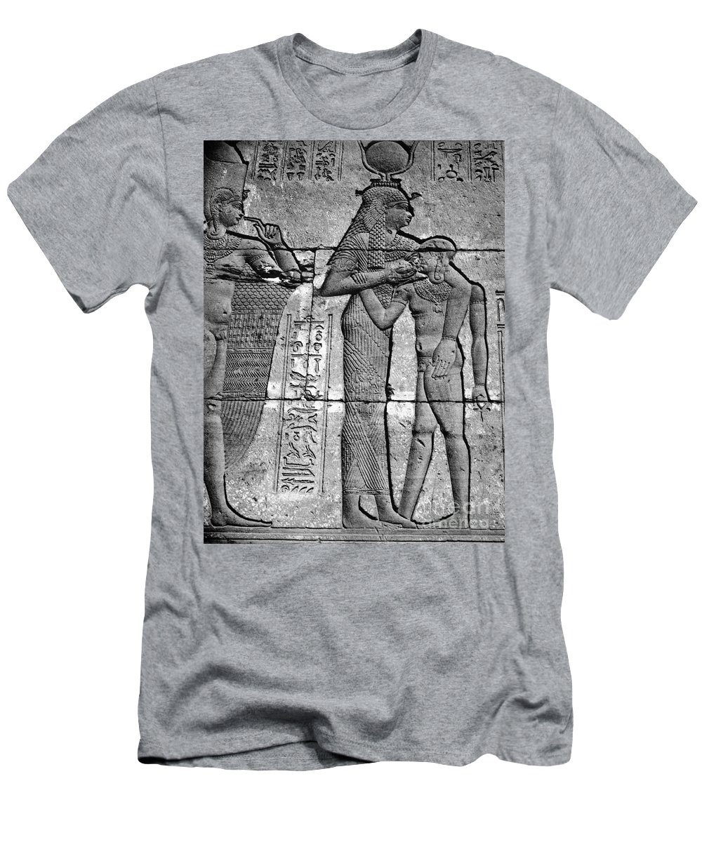 1st Century B.c Men's T-Shirt (Athletic Fit) featuring the photograph Cleopatra Vii (69-30 B.c.) by Granger