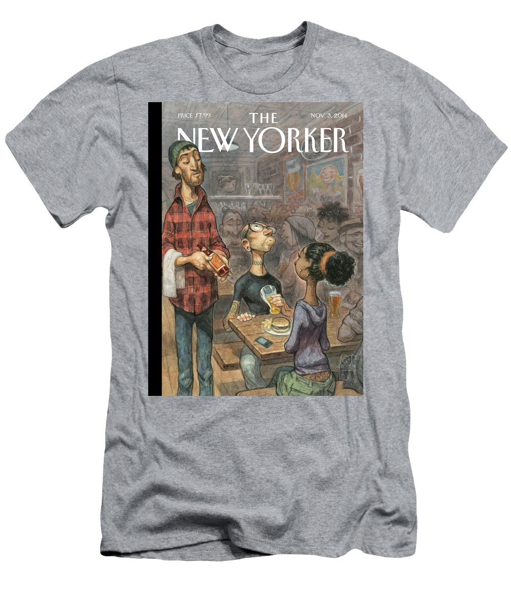 Elite T-Shirt featuring the painting Hip Hops by Peter de Seve