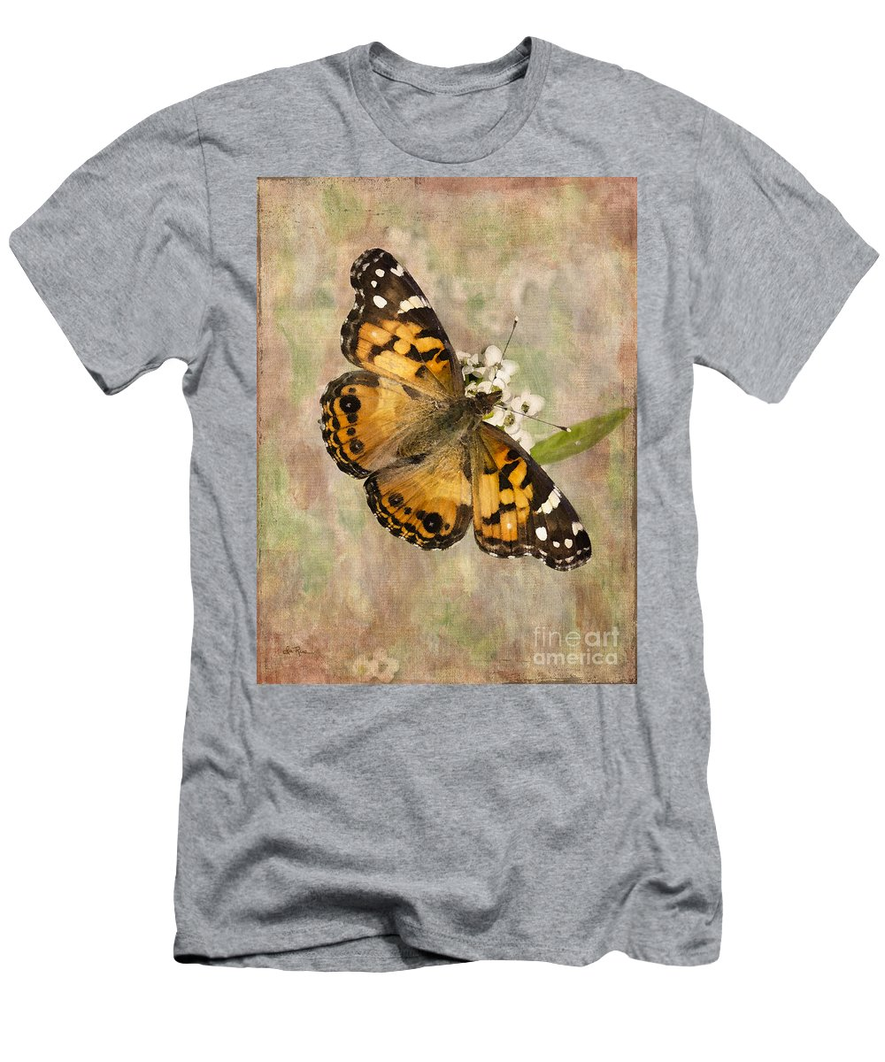Butterfly Men's T-Shirt (Athletic Fit) featuring the photograph A Whisper Of Wings by Betty LaRue
