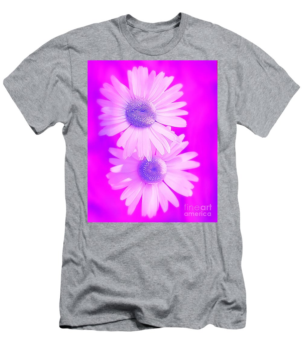 Nature Men's T-Shirt (Athletic Fit) featuring the photograph A Whiter Shade Of Pale by Brian Raggatt