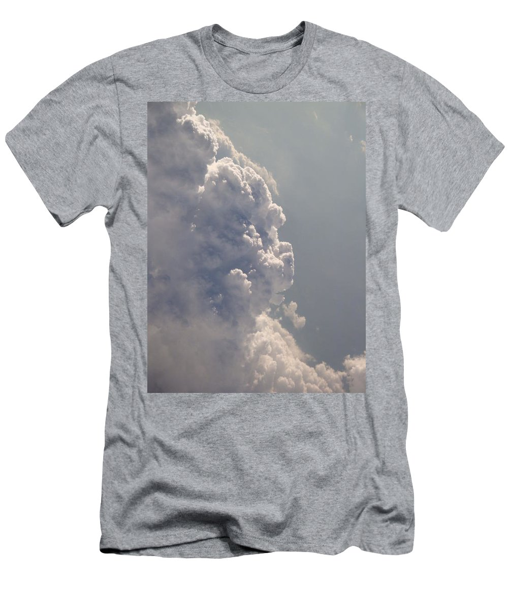 Clouds Men's T-Shirt (Athletic Fit) featuring the photograph Above The Clouds by Kim Chernecky