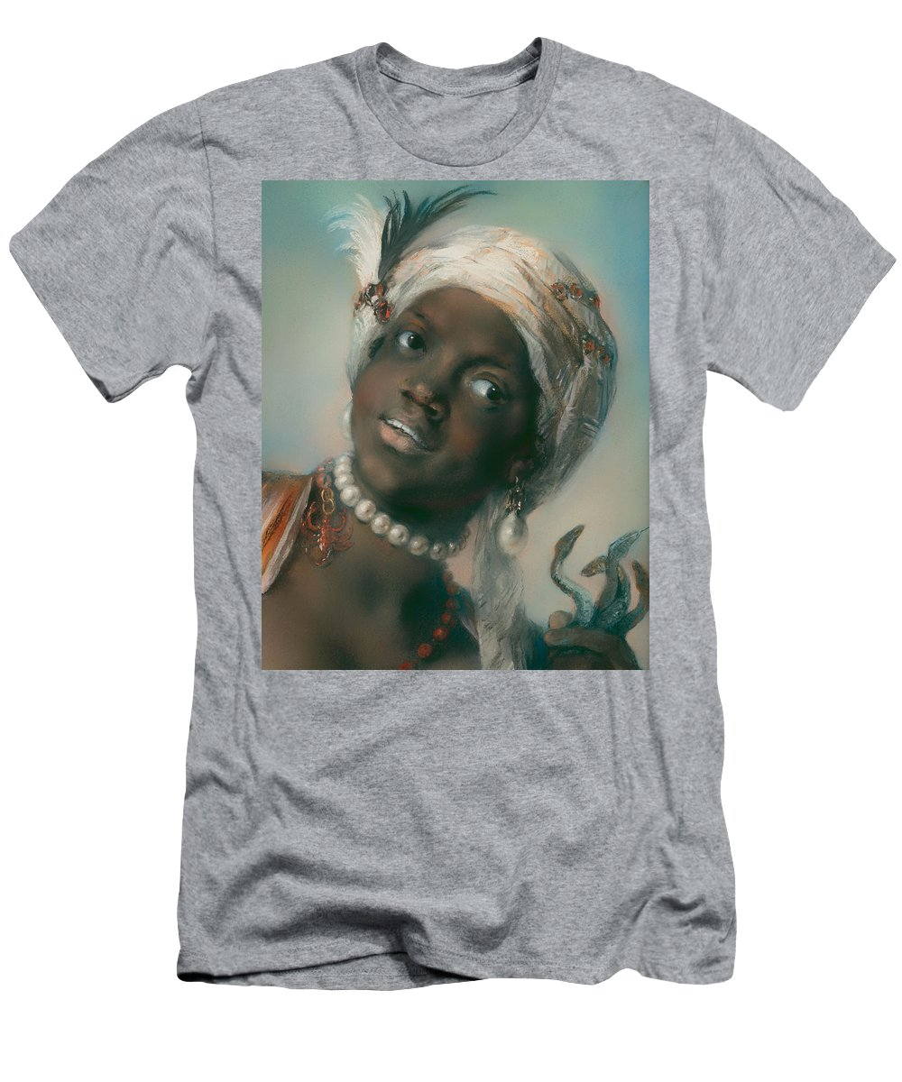 Painting Men's T-Shirt (Athletic Fit) featuring the painting Africa by Mountain Dreams